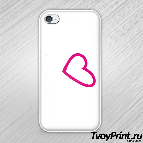 Чехол iPhone 4S Trance we love