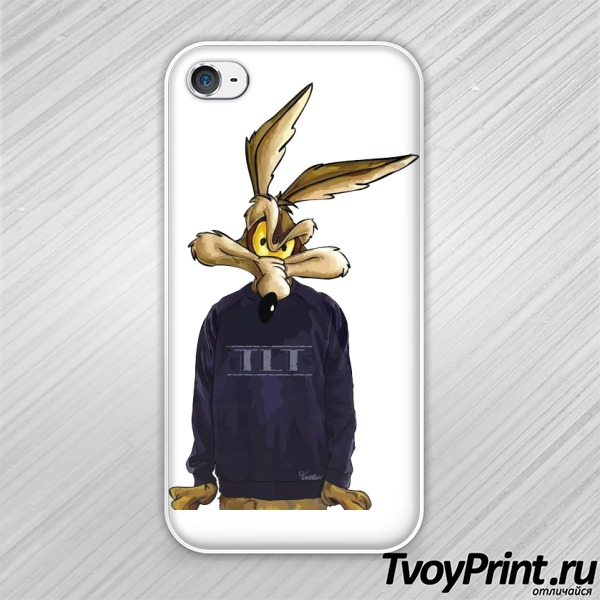 Чехол iPhone 4S Coyote