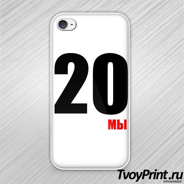 Чехол iPhone 4S парная 2013 левая