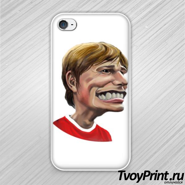 Чехол iPhone 4S Аршавин