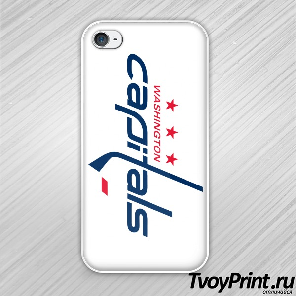 Чехол iPhone 4S Washington capitals