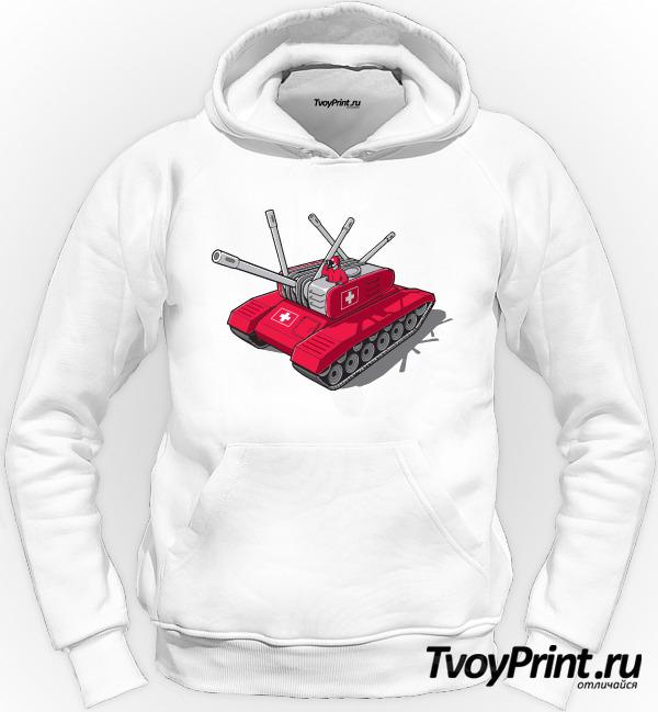 Толстовка Швейцарский танк