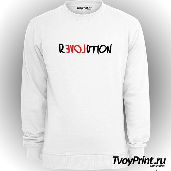 Свитшот love revolution
