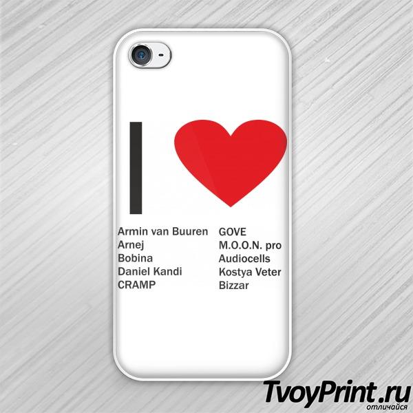 Чехол iPhone 4S Армин и другие
