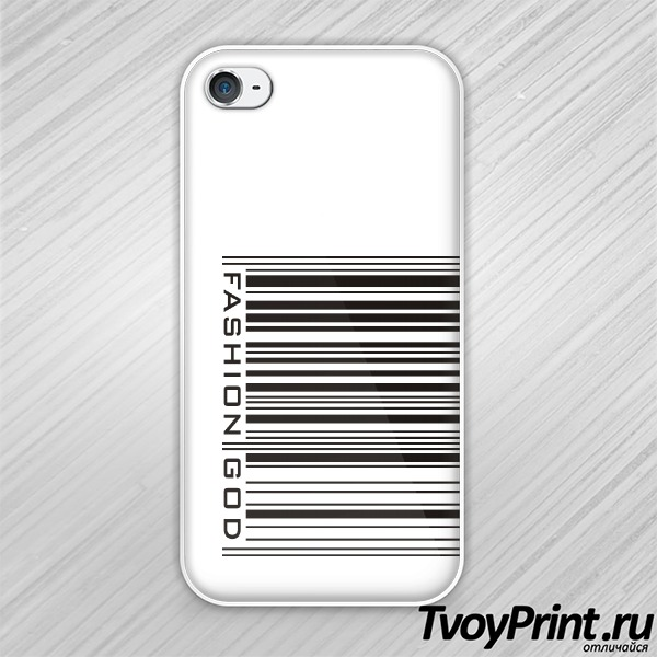 Чехол iPhone 4S Fashion God