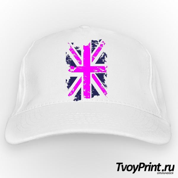 Бейсболка Флаг Великобритании (роз.)