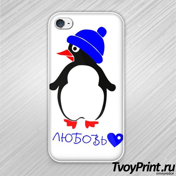 Чехол iPhone 4S греет любовь