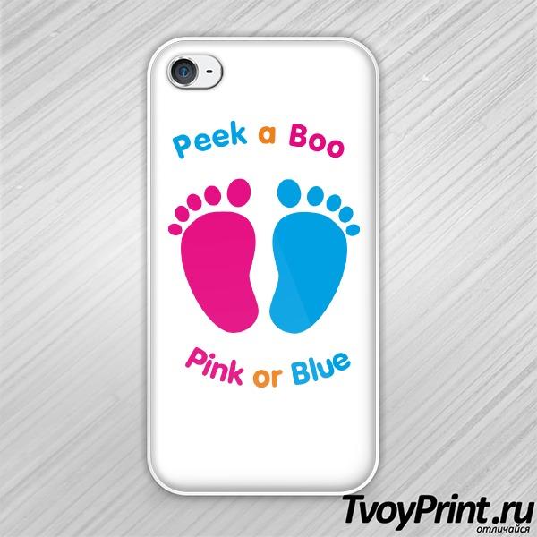 Чехол iPhone 4S Мальчик или девочка?