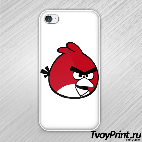 Чехол iPhone 4S Angry birds