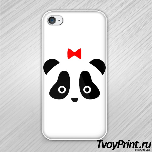 Чехол iPhone 4S Панда жен