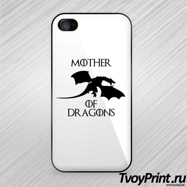 Чехол iPhone 4S Мать драконов