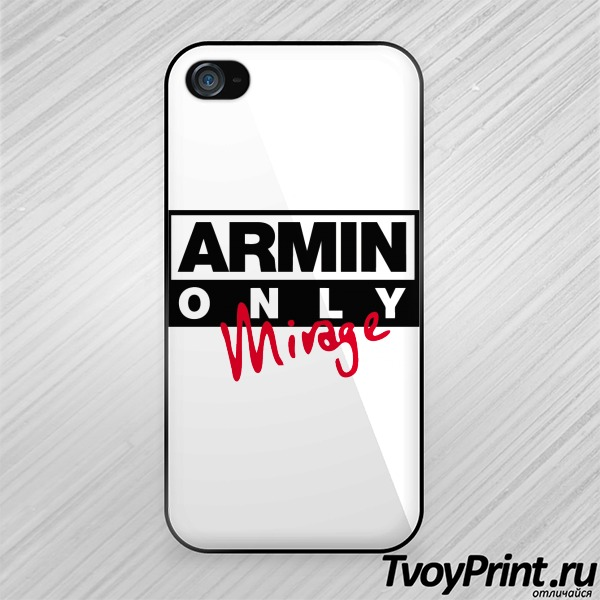 Чехол iPhone 4S Armin only mirage