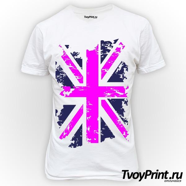 Футболка Флаг Великобритании (роз.)
