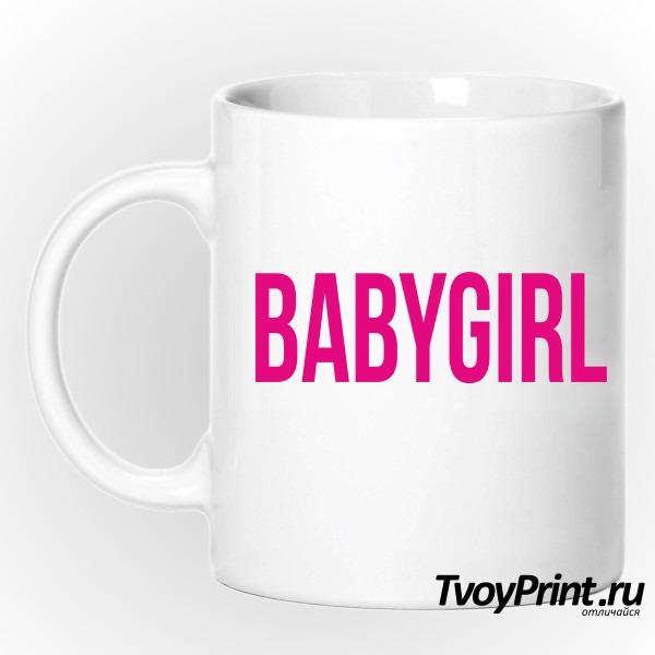 Кружка babygirl
