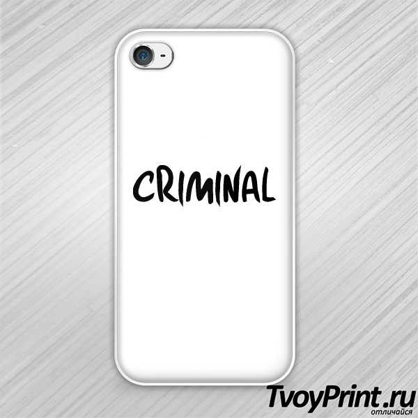 Чехол iPhone 4S CRIMINAL