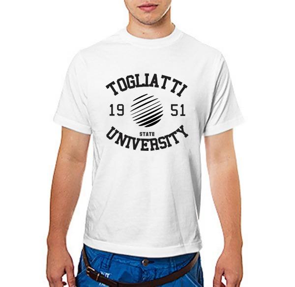 Футболка вуза Тольятти: ТГУ