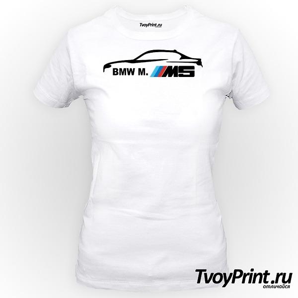 Футболка BMW M5 Series ( Женская 3b8b8e4cca080