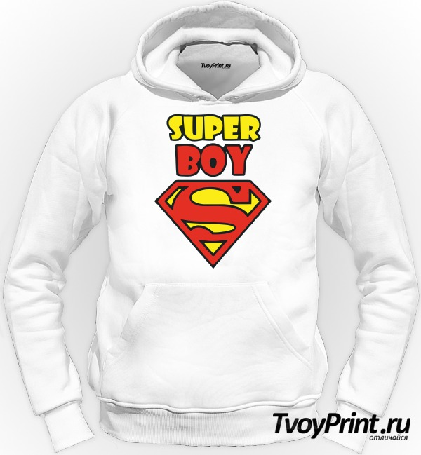 Толстовка Super boy