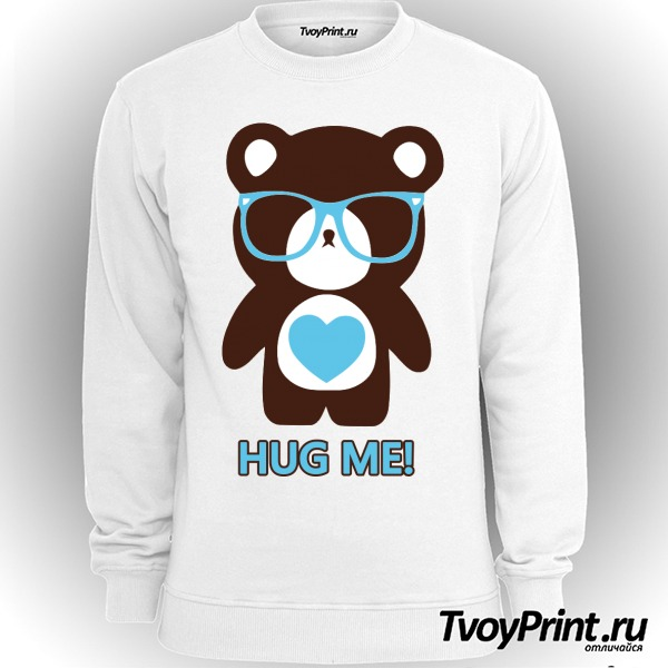 Свитшот Hug me