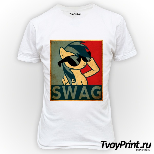 Футболка Rainbow Dash Swag