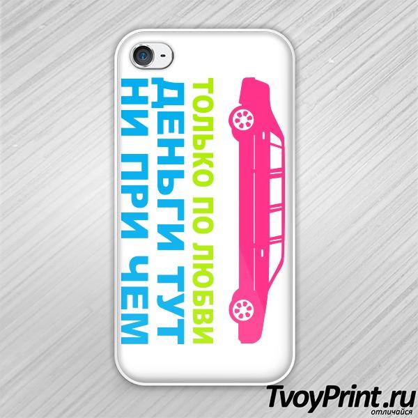 Чехол iPhone 4S Только по любви