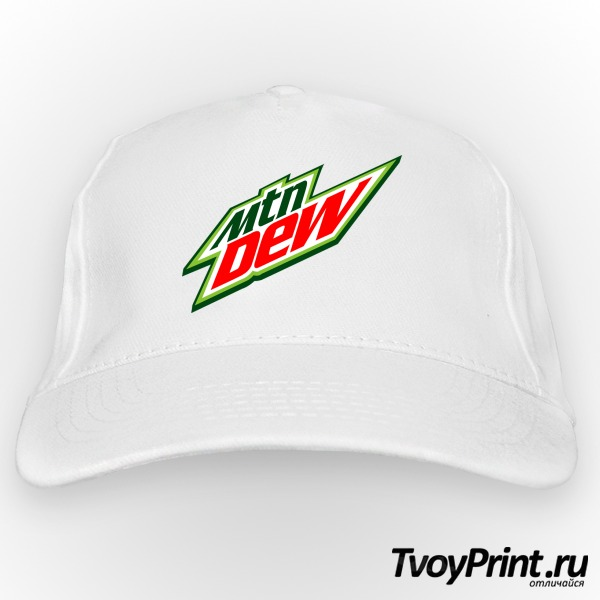 Бейсболка Mountain Dew