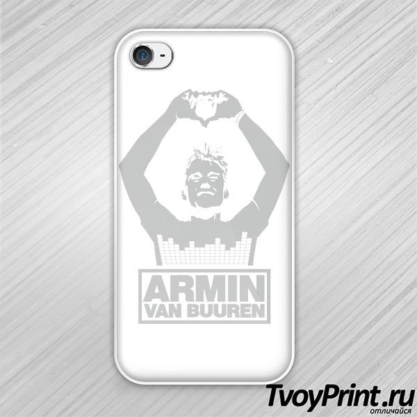 Чехол iPhone 4S Армин ван