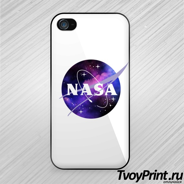 Чехол iPhone 4S nasa space