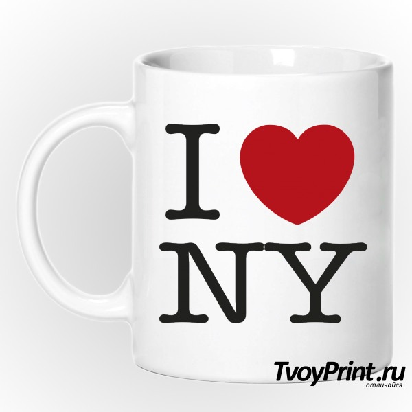 Кружка I love New York