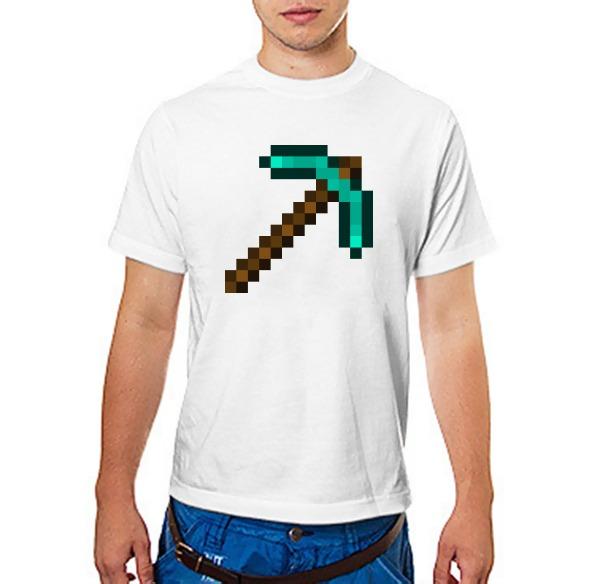 Футболка Minecraft Кирка