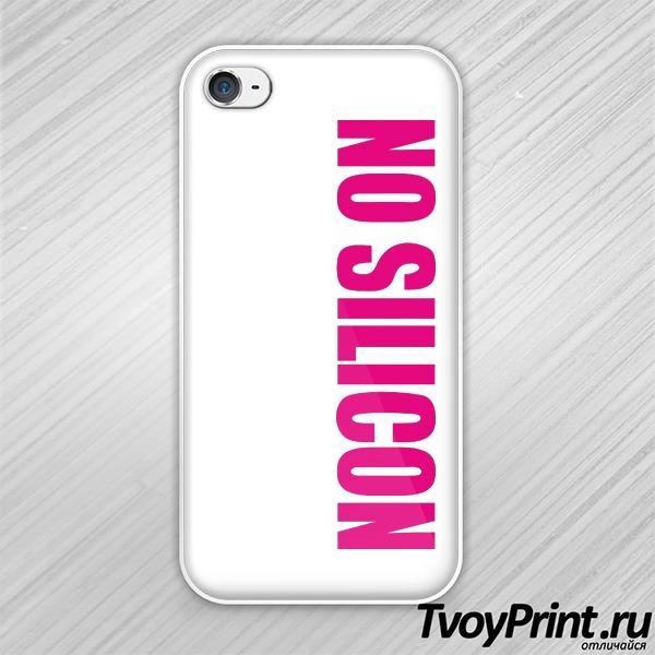 Чехол iPhone 4S No silikon