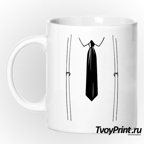 Кружка подтяжки и галстук