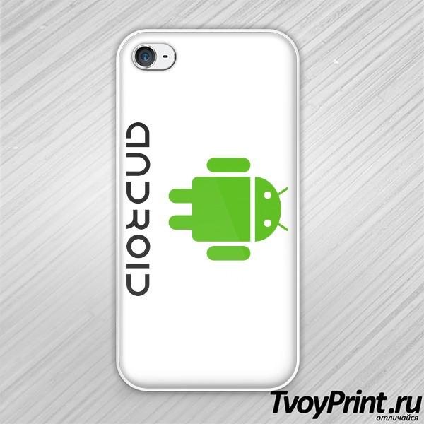 Чехол iPhone 4S ANDROID