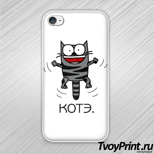 Чехол iPhone 4S КОТЭ