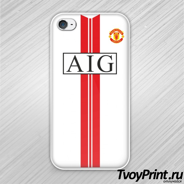 Чехол iPhone 4S Manchester United (форма 2)