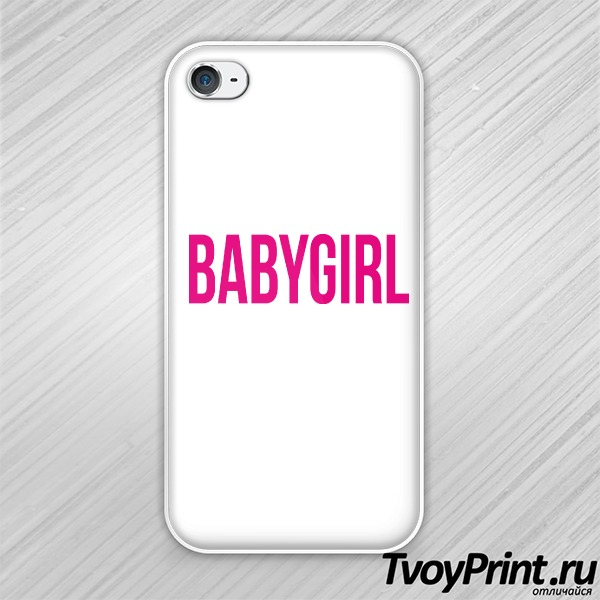 Чехол iPhone 4S babygirl