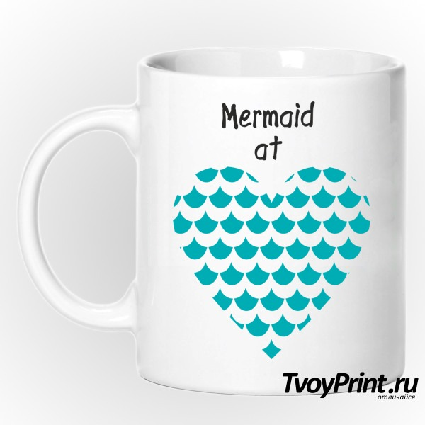 Кружка Mermaid at love