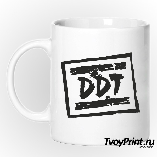 Кружка Рок над Волгой (DDT)