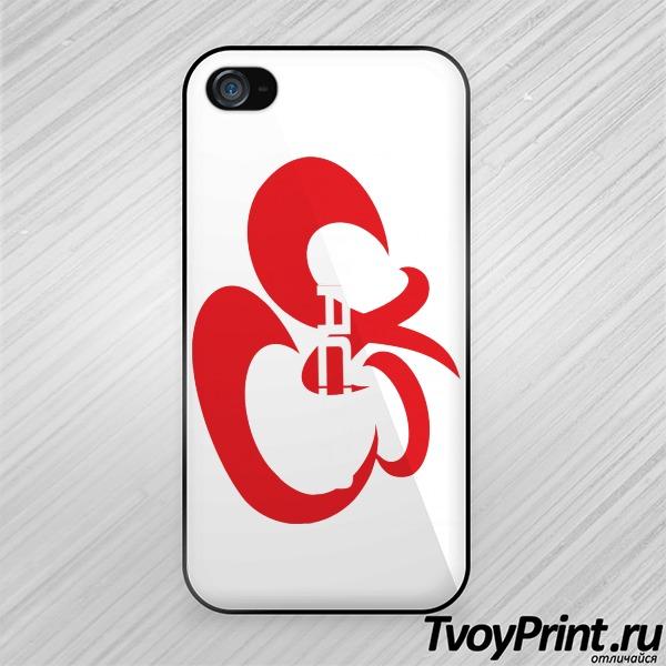 Чехол iPhone 4S Каста black