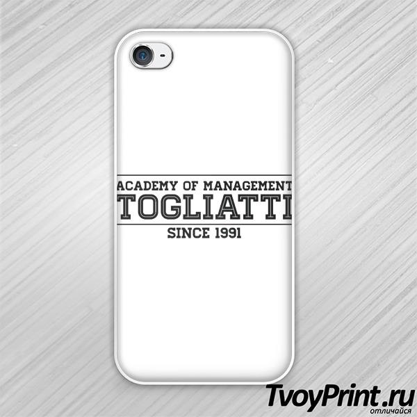 Чехол iPhone 4S вуза Тольятти: ТАУ