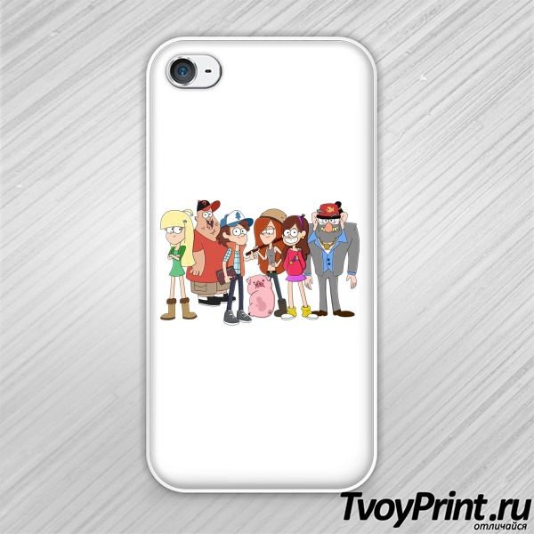 Чехол iPhone 4S GRAVITY FALLS (2)