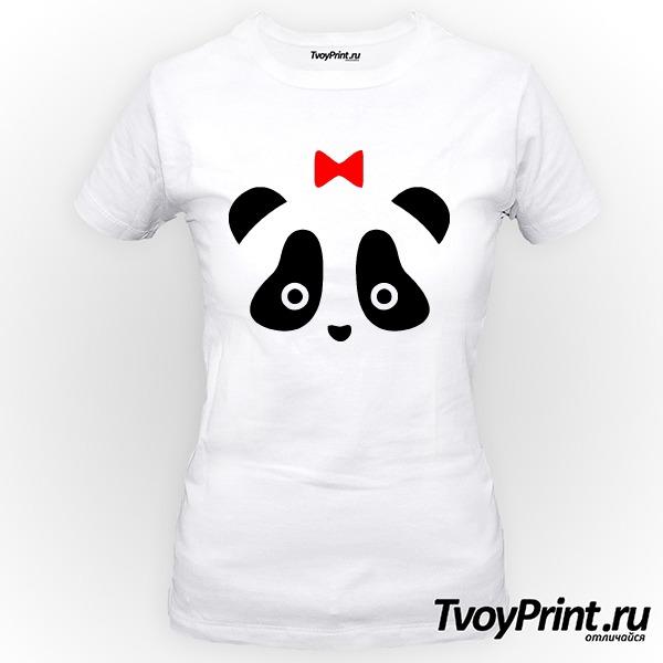 Футболка Панда жен