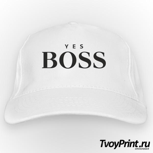 Бейсболка yes boss