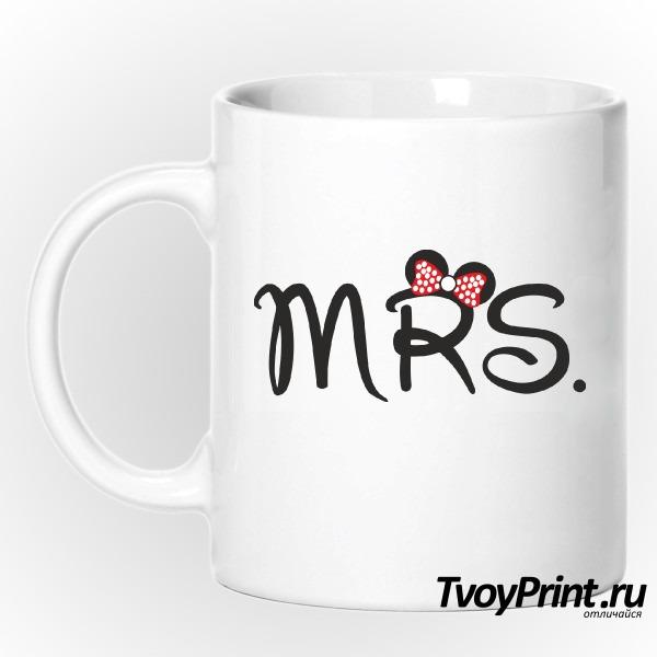 Кружка Миссис Маус (жен.)