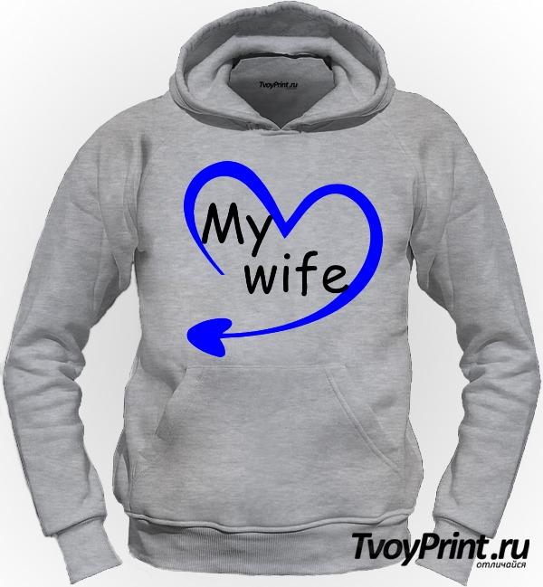 Толстовка моя жена