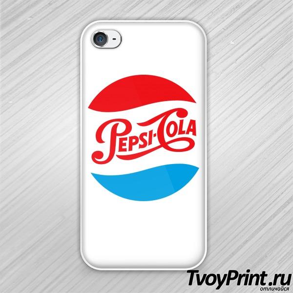 Чехол iPhone 4S pepsi cola old