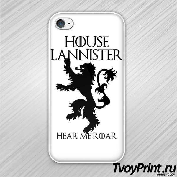Чехол iPhone 4S House Lannister
