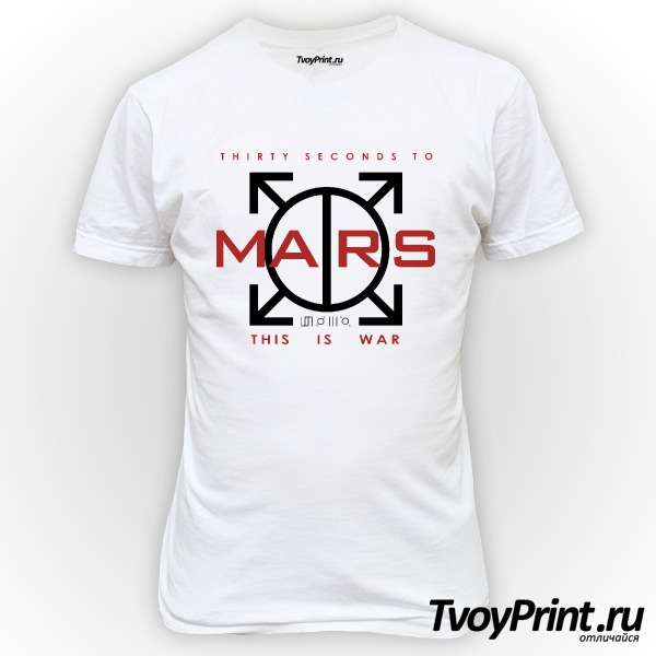 Футболка 30 seconds to mars Landing