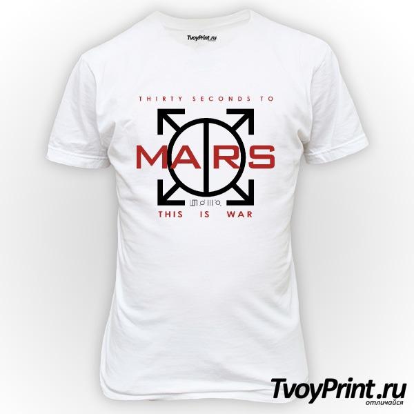Футболка 30 seconds to mars Landing