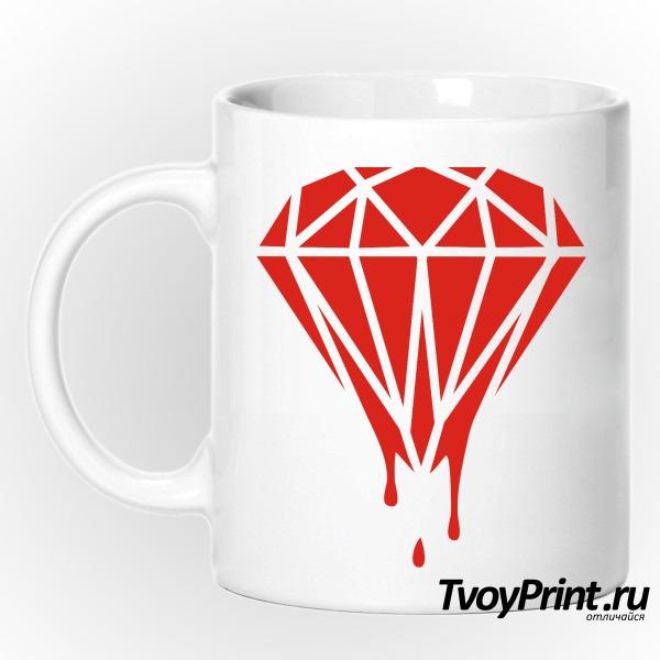 Кружка Плавящийся бриллиант